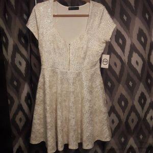 Fashion to Figure sweetheart neckline dress